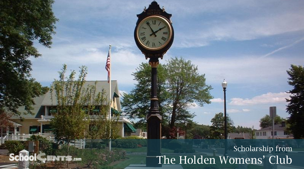 Holden Womens' Club Announces Scholarships