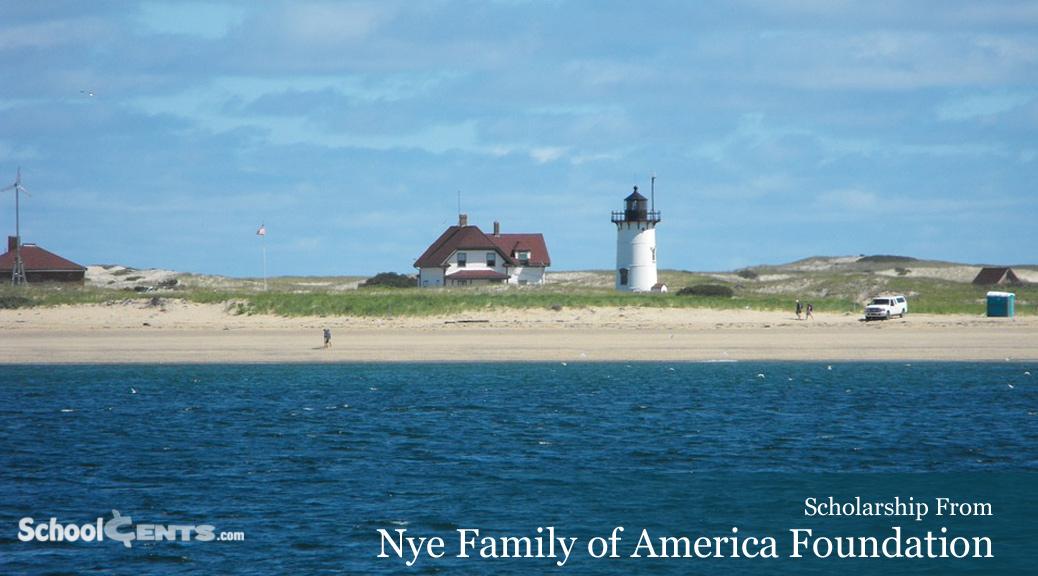 Nye Family of America Scholarship